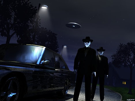 The UFO sightings that launched 'Men in Black' mythology  Mibs