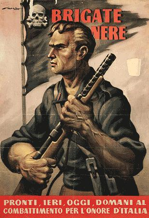A recruitment poster for the Black Brigades,