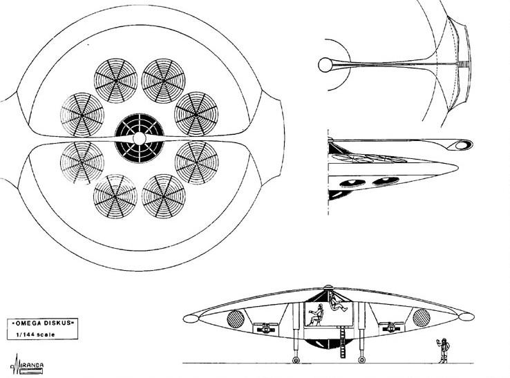 Ο ιπτάμενος δίσκος omega του josef andreas epp